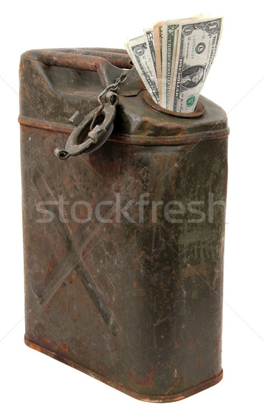 money and jerrycan Stock photo © pterwort