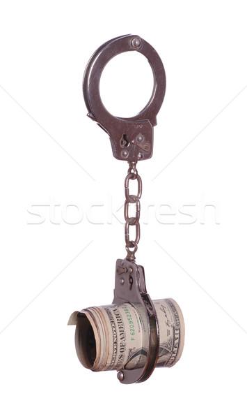 Dólares negócio dinheiro fundo metal Foto stock © pterwort