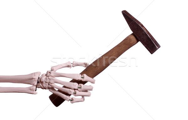скелет стороны старые молота строительство работу Сток-фото © pterwort