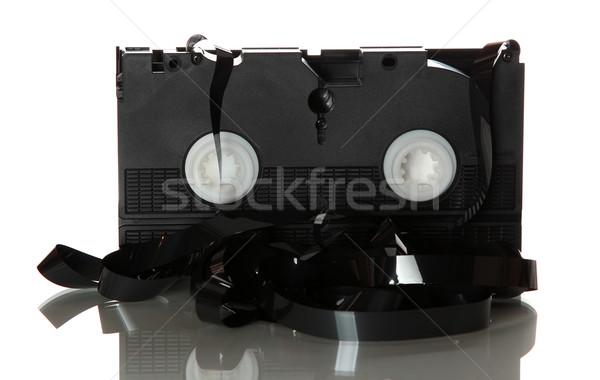 damaged videotape Stock photo © pterwort