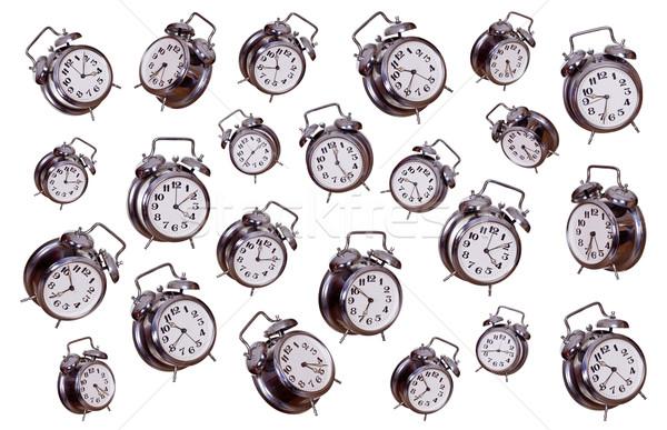 concept of old alarm bells Stock photo © pterwort