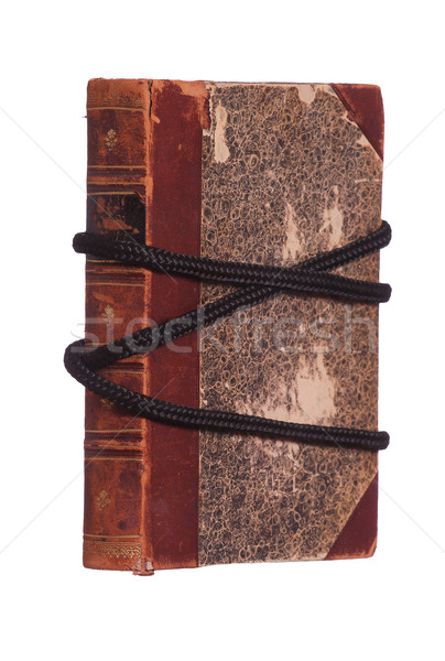 protected book with black rope Stock photo © pterwort