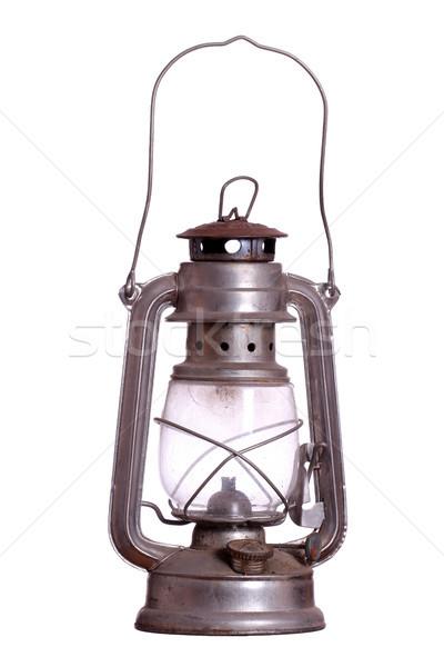 старые лампы огня свет стекла металл Сток-фото © pterwort