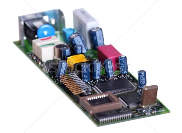 electronic elements Stock photo © pterwort