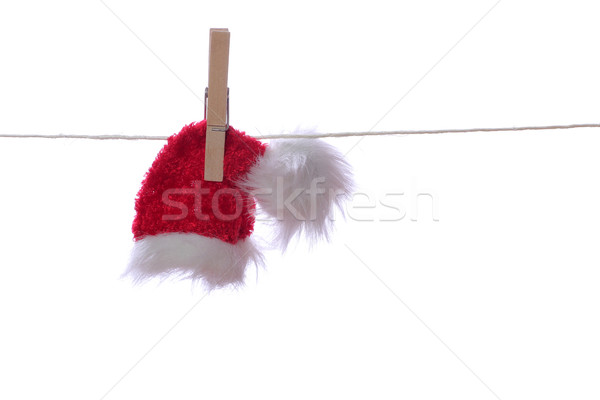 red cap on rope Stock photo © pterwort