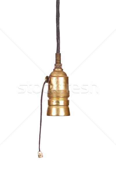 öreg villanykörte fény üzlet terv technológia Stock fotó © pterwort