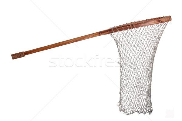 古い 漁網 ツール 白 純 オブジェクト ストックフォト © pterwort
