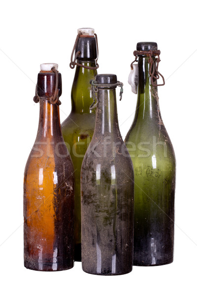 concept very old dusty bottles Stock photo © pterwort
