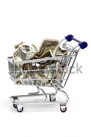 Achat véhicule argent lumière banque classe Photo stock © pterwort