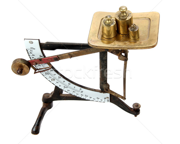 letter balance with measures Stock photo © pterwort