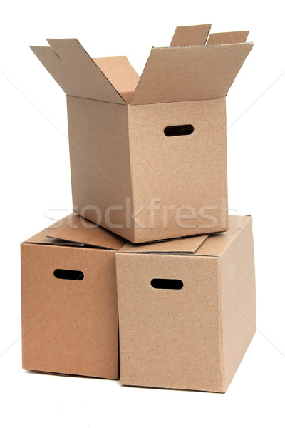 Eltávolítás otthon doboz szolgáltatás tok raktár Stock fotó © pterwort
