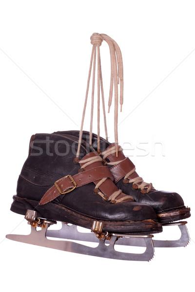 pair of very old skates Stock photo © pterwort