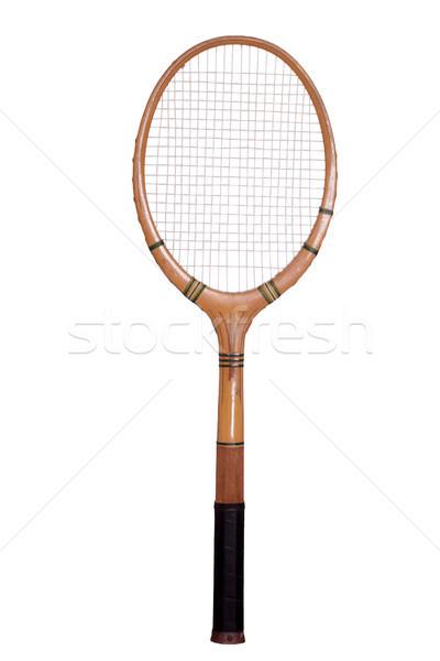 old tennis racket Stock photo © pterwort
