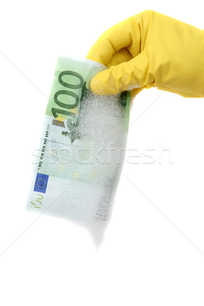 money laundering Stock photo © pterwort