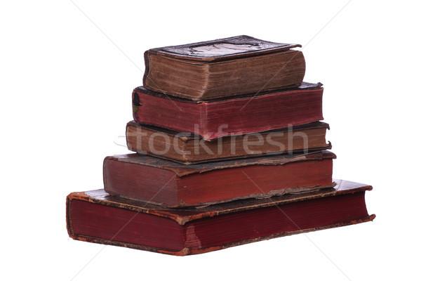 старые книгах бумаги книга школы фон Сток-фото © pterwort