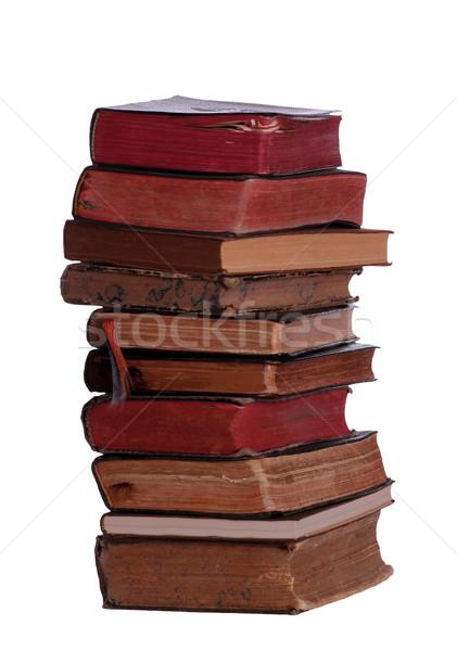 Сток-фото: книгах · науки · черный