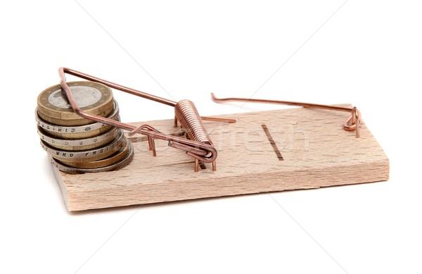 Sciolto contanti soldi legno finanziare futuro Foto d'archivio © pterwort