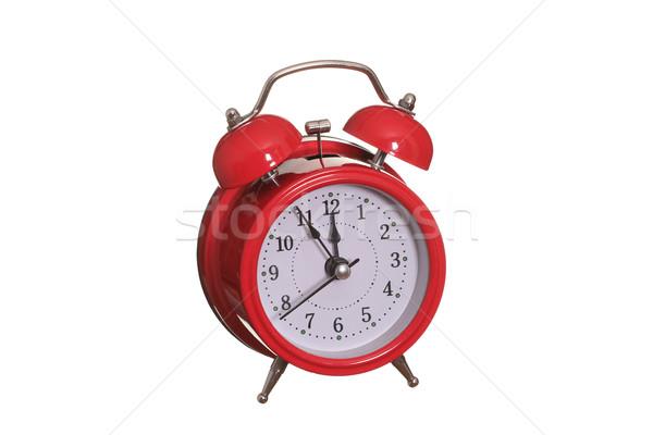 красный старые тревогу колокола служба часы Сток-фото © pterwort