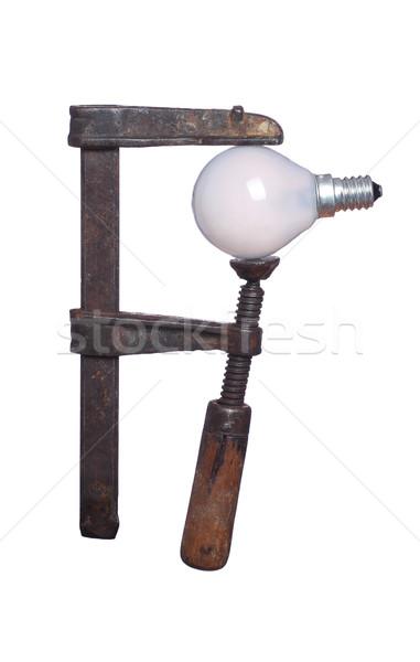 лампа давление старые работу технологий работник Сток-фото © pterwort