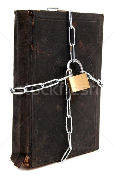 Tajne książki szkoły bezpieczeństwa nauki badania Zdjęcia stock © pterwort