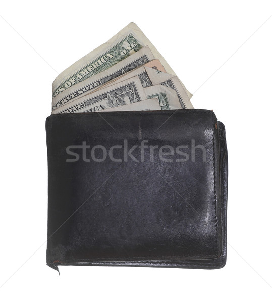 hackneyed purse with dollars Stock photo © pterwort
