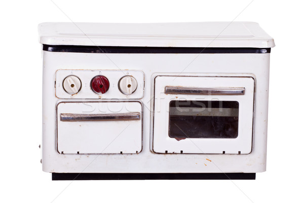 very old stove Stock photo © pterwort