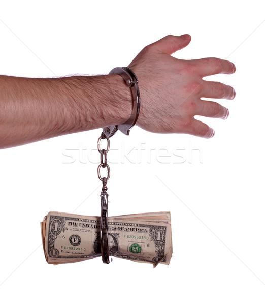 стороны долларов бизнеса деньги фон Сток-фото © pterwort