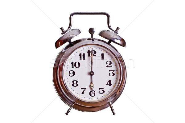 6 o'clock Stock photo © pterwort