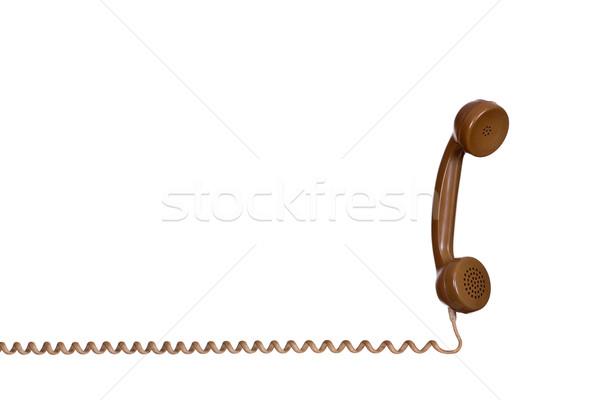 earpiece of old phone Stock photo © pterwort