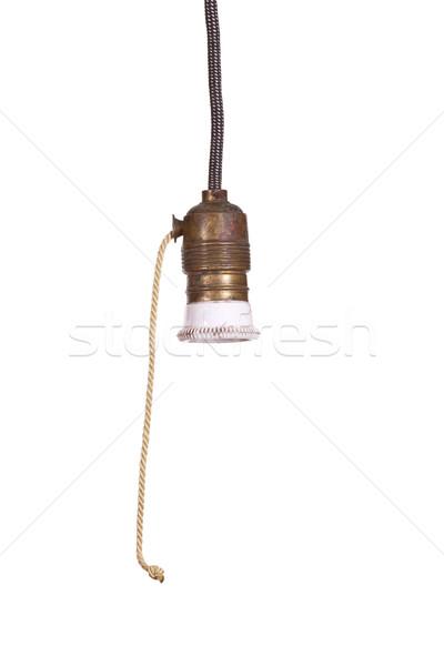 старые лампа свет бизнеса дизайна технологий Сток-фото © pterwort