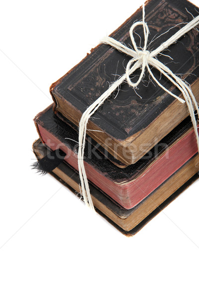 stock of old books Stock photo © pterwort