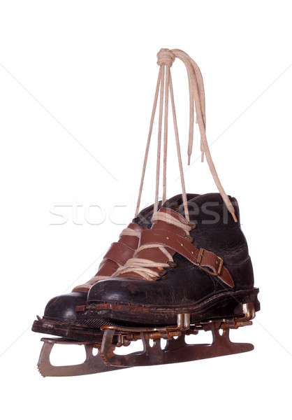 pair of old skates Stock photo © pterwort