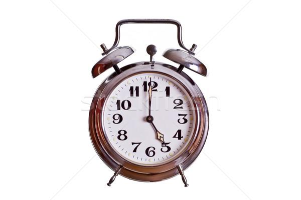 5 o'clock Stock photo © pterwort