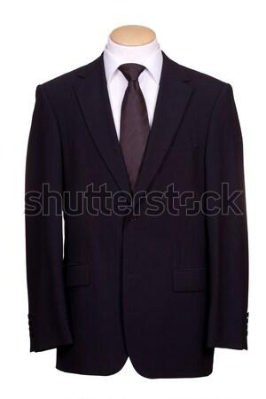 костюм галстук бизнеса заседание фон корпоративного Сток-фото © pterwort