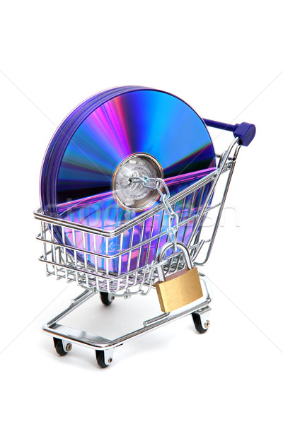 protected online shopping Stock photo © pterwort