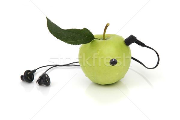 природного развлечения вечеринка фрукты радио время Сток-фото © pterwort