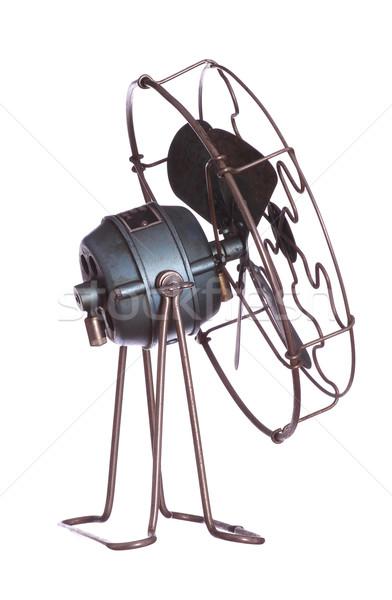 Koeling fan zwarte witte elektriciteit cool Stockfoto © pterwort