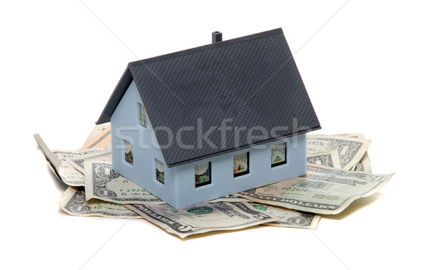 house and dollar notes Stock photo © pterwort