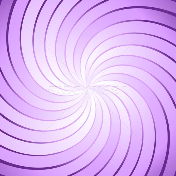 Abstract purple ray twirl background Stock photo © punsayaporn
