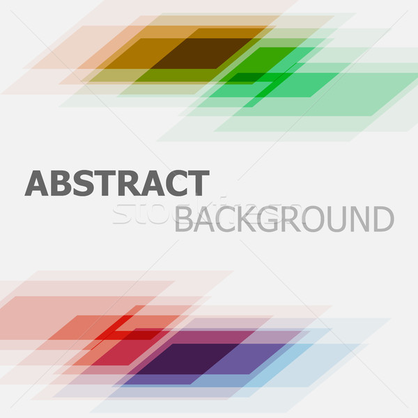 Abstract colorful business straight lines background Stock photo © punsayaporn
