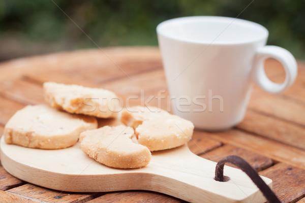 カシュー クッキー コーヒーカップ 在庫 写真 食品 ストックフォト © punsayaporn