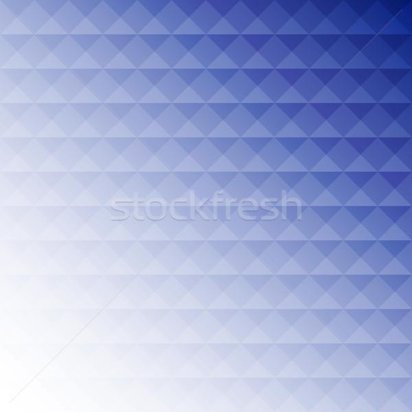 ストックフォト: 抽象的な · 青 · モザイク · デザイン · 在庫 · ベクトル