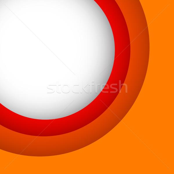 Abstract oranje exemplaar ruimte voorraad vector business Stockfoto © punsayaporn