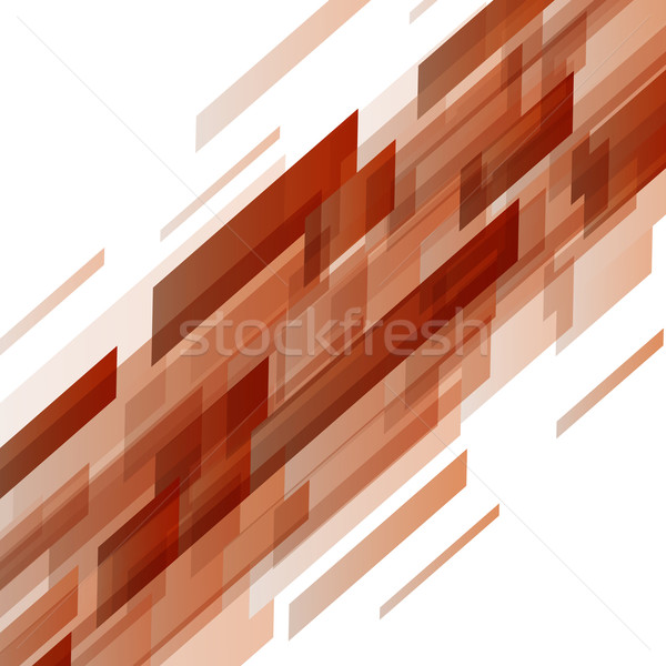 Abstract oranje technologie voorraad vector business Stockfoto © punsayaporn