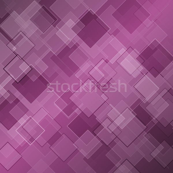 Abstract purple background with rhombus Stock photo © punsayaporn