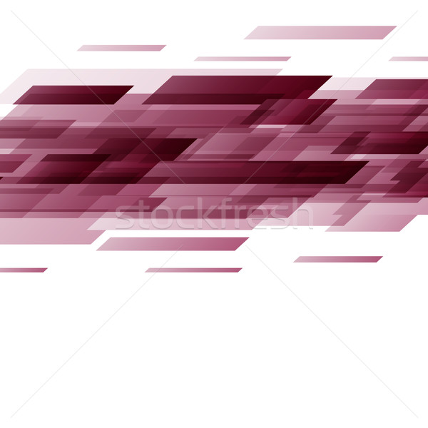 Abstract Rood technologie voorraad vector business Stockfoto © punsayaporn