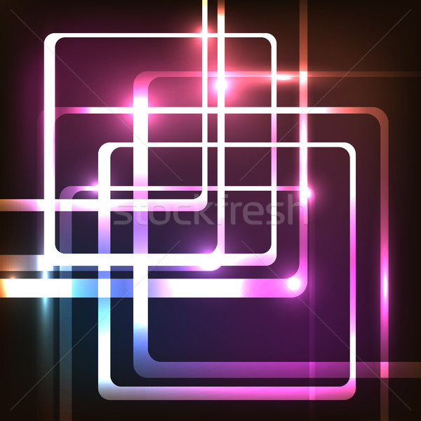 Abstract voorraad vector mode frame Stockfoto © punsayaporn
