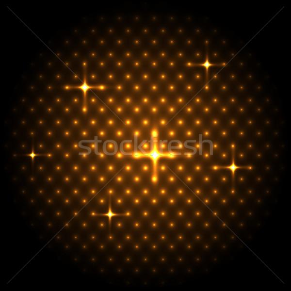Absztrakt globális arany stock vektor hátterek Stock fotó © punsayaporn