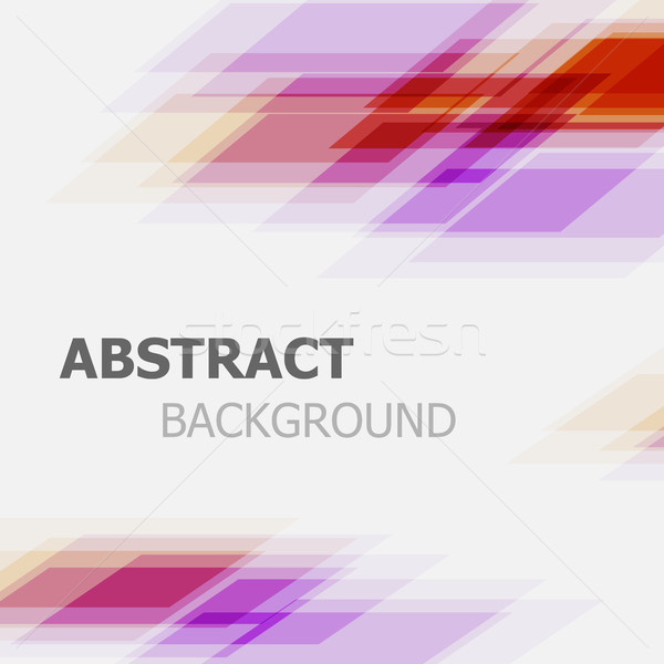 Stockfoto: Abstract · paars · Rood · business · rechtdoor · lijn