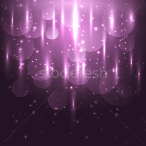 Abstract roze licht bokeh voorraad Stockfoto © punsayaporn